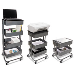 Vertiflex® Adjustable Multi-Use Storage Cart and Stand-Up Workstation Thumbnail
