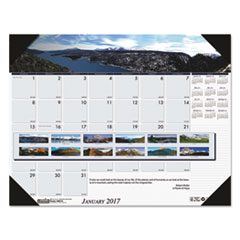 House of Doolittle™ Earthscapes™ 100% Recycled Mountains of the World Monthly Desk Pad Calendar Thumbnail