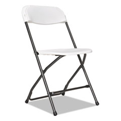 Alera® Economy Resin Folding Chair Thumbnail