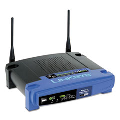 LINKSYS™ 4-Port N Wireless Router, 4 Ports, 2.4GHz