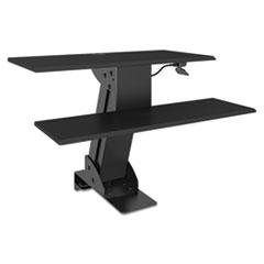 Alera® AdaptivErgo Sit-Stand Lifting Workstation, 31 1/2 x 40 x 20, Black