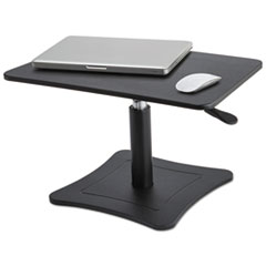 """Victor® DC230 Adjustable Laptop Stand, 21"""" x 13"""" x 12"""" to 15.75"""", Black, Supports 20 lbs"""