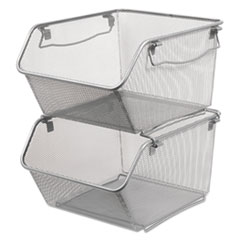 Alera® Wire Mesh Stacking Shelving Bins Thumbnail