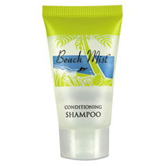 Beach Mist™ Shampoo, 0.65 oz Tube, 288/Carton