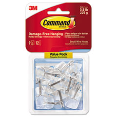 Command(TM) Clear Hooks and Strips