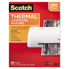 Tyh Supplies 5 Mil 5x7 Hot Clear Glossy Thermal Laminating Pouches Lamination Sh