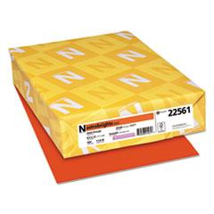 Astrobrights® Color Paper, 24 lb, 8.5 x 11, Orbit Orange, 500/Ream