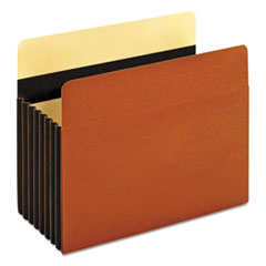 Pendaflex® Heavy-Duty File Pockets, 1 Pocket, Letter, Redrope PFX15444HD