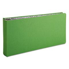 "Oxford™ Green Canvas Legal Ring Binder, 2"" Cap, 14 x 8 1/2, Green"