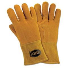 West Chester Ironcat® Insulated Top Grain Reverse Deerskin MIG Welding Gloves Thumbnail