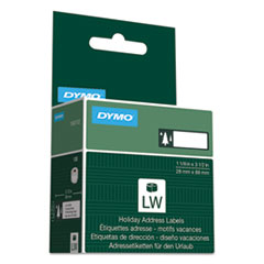 DYMO® Holiday Labels, Trees, Green, 130 Labels/Roll DYM1960102