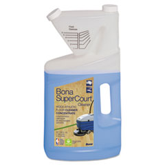 Bona® SuperCourt Cleaner Concentrate, 1 gal Bottle