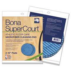 Bona® SuperCourt™ Athletic Floor Care Microfiber Cleaning Pads Thumbnail