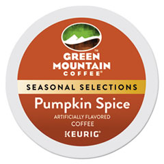 Green Mountain Coffee® Fair Trade Certified Pumpkin Spice Flavored Coffee K-Cups, 24/Box