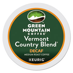 Green Mountain Coffee® Vermont Country Blend Decaf Coffee K-Cups, 24/Box