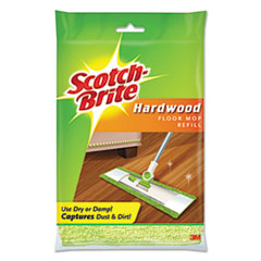 Scotch-Brite® Hardwood Floor Mop Refill, Microfiber