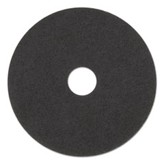 "3M™ Low-Speed Stripper Floor Pad 7200, 17"" Diameter, Black, 5/Carton"