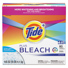 Tide® Plus Bleach Powder Laundry Detergent