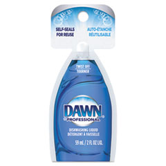 Dawn® Professional Manual Pot & Pan Dish Detergent, Original Scent, 2 oz Packet, 72/Carton