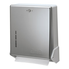 San Jamar® True Fold™ C-Fold/Multifold Towel Dispenser Thumbnail