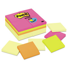 Post-it® Notes Original Pads Assorted Value Packs Thumbnail
