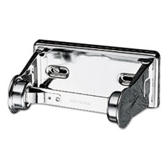 Locking Toilet Tissue Dispenser, 6 x 4 1/2 x 2 3/4, Chrome
