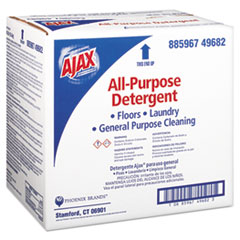 Ajax® Laundry Detergent Powder, All Purpose, 36 lb Box