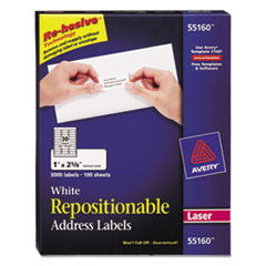 Avery® Repositionable Labels Thumbnail