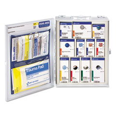 First Aid Only™ ANSI 2015 SmartCompliance Food Service Cabinet w/o Medication,25 People,94 Piece