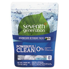 Seventh Generation® Natural Automatic Dishwasher Detergent Packs Thumbnail