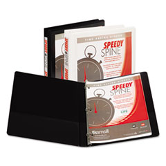 Samsill® Speedy Spine Heavy-Duty Time Saving Round Ring View Binder Thumbnail