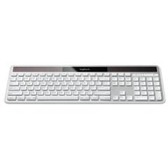 Logitech® Wireless Solar Keyboard for Mac, Full Size, Silver