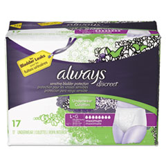 Always® Discreet Incontinence Underwear