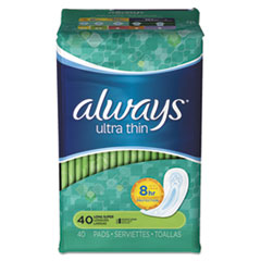 Always® Ultra Thin Pads