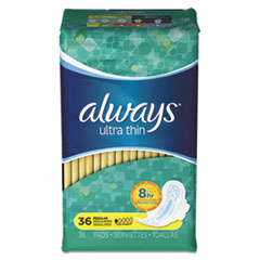 Always® Ultra Thin Pads with Wings