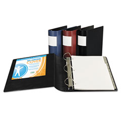 Samsill® DXL™ Heavy-Duty Locking D-Ring Binder with Label Holder Thumbnail