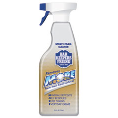 Bar Keepers Friend® MORE Spray + Foam Cleaner, 25.4 oz Spray Bottle, Citrus, 6/Carton
