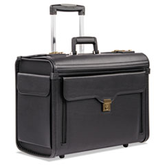 Catalog Case on Wheels, Koskin, 19 x 9 x 15-1/2, Black