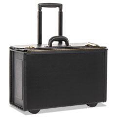 STEBCO Tufide Rolling Catalog Case, 22 1/4 x 9 x 13 1/2, Black