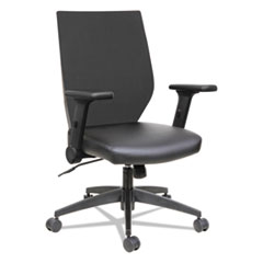 Alera® EB-T Series Synchro Mid-Back Flip-Arm Chair