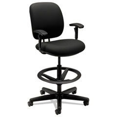 HON® 7700 Series Task Stool with Adjustable Footring Thumbnail