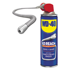 WD-40® Lubricant Spray, 14.4 oz Aerosol Can w/EZ Reach Straw, 6/Carton