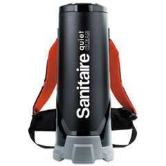 Sanitaire® Quiet Clean HEPA Backpack Vac, 10 qt, Black EURSC530A