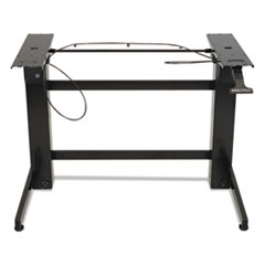 WorkFit™ by Ergotron® WorkFit-B Sit-Stand Workstation Base, Heavy-Duty, 88 lbs Max Weight Cap, 42w x 26d x 51.5h, Black