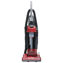 Sanitaire® FORCE Upright Vacuum with Dust Cup, Sealed HEPA, 17 lb, 3.5 qt, Red
