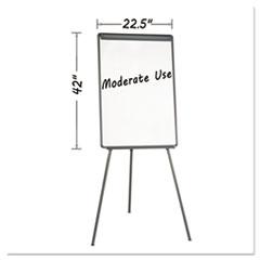 MasterVision® Basic Tripod Melamine Presentation Easel
