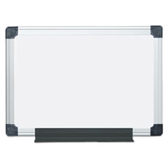 Value Lacquered Steel Magnetic Dry Erase Board, 18 x 24, White, Aluminum