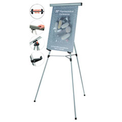MasterVision®  Telescoping Tripod Display Easel