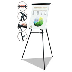 MasterVision®  Telescoping Tripod Display Easel Thumbnail