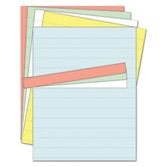 Data Card Replacement Sheet, 8 1/2 x 11 Sheets, Assorted, 10/PK